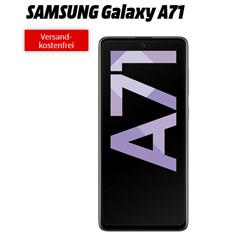 Bild zu SAMSUNG Galaxy A71 für 49€ (VG: 368,90€) mit mit 12GB LTE Datenflat, SMS und Sprachflat im o2 Netz für 19,99€/Monat
