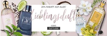 Bild zu Parfümerie Pieper: 20% Rabatt auf alle nicht reduzierten Artikel (ab 59€ MBW)