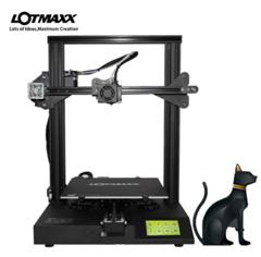 Bild zu LOTMAXX SC-10 Hochpräziser 3D Drucker 235x235x280mm mit 200g Filament für 179,99€ (Vergleich: 199,99€)