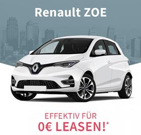 Bild zu [Knaller und nur heute – Gewerbeleasing] Renault Zoe Life ZE 50 effektiv kostenlos + 0€ Bereitstellung (24 Monate, 10.000km/Jahr, LF 0)
