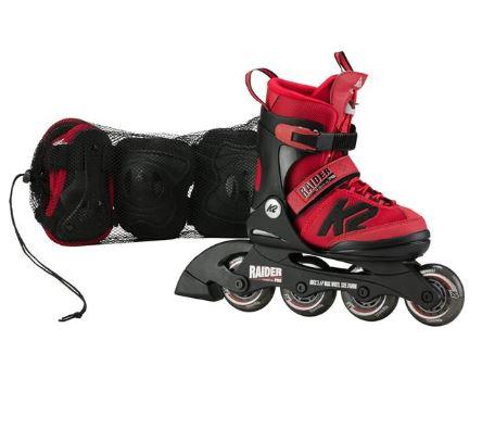 Bild zu K2 Kinder Skates RAIDER PRO PACK für 63,94€ (VG: 79,99€)