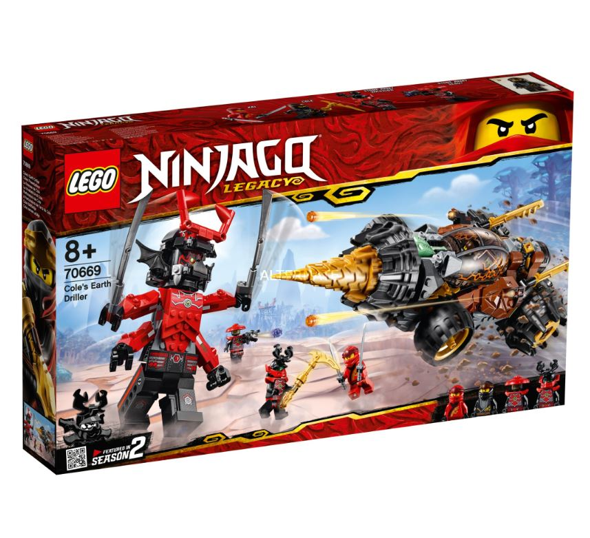 Bild zu LEGO 70669 Ninjago Coles Powerbohrer für 47,98€ (VG: 71,99€)