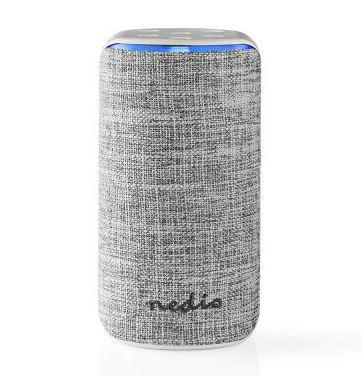 Bild zu Nedis WLAN Smart Lautsprecher (SPVC7000WT) (15 W, Alexa Sprachsteuerung, Weiß) für 32,99€ (VG: 46,68€)