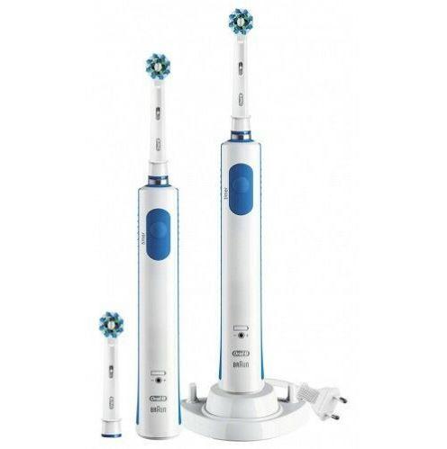 Bild zu ORAL-B PRO 600 elektrische Zahnbürste (BONUSPACK MIT 2. Handstück) für 37,50€ (VG: 53,90€)