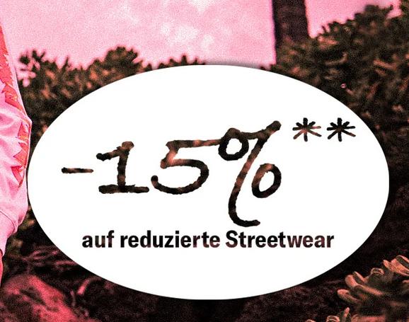 Bild zu Planet Sports: 15% Extra-Rabatt auf bereits reduzierte Streetwear