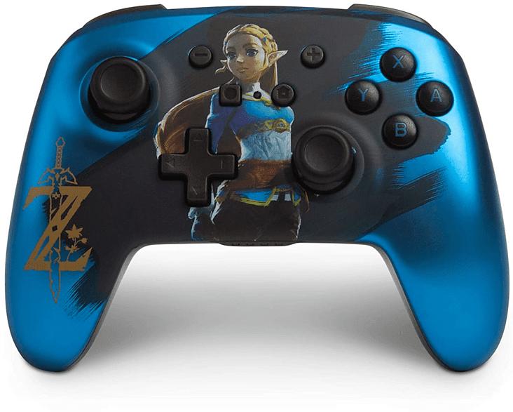 Bild zu Nintendo Switch PowerA Wireless Controller Zelda Controller für 48,98€ (Vergleich: 55,89€)