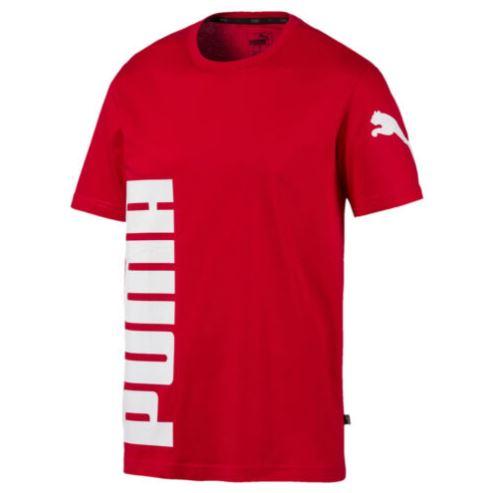 Bild zu PUMA Big Logo Graphic Herren T-Shirt Männer (schwarz, rot oder weiß) für 14€ (VG: 17,50€)