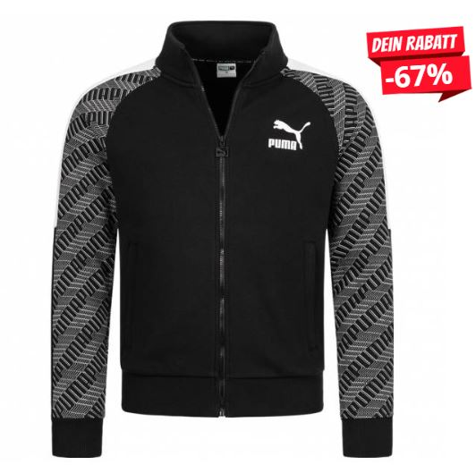 Bild zu PUMA T7 AOP Herren Trainingsjacke für 24,99€ zzgl. 3,95€ Versand (VG: 50€)