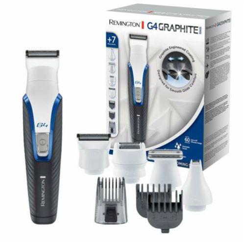 Bild zu REMINGTON Haarschneider Personal Groomer (PG4000 G4 GraphiteSeries Körperrasierer) für 33,29€ (VG: 39,99€)