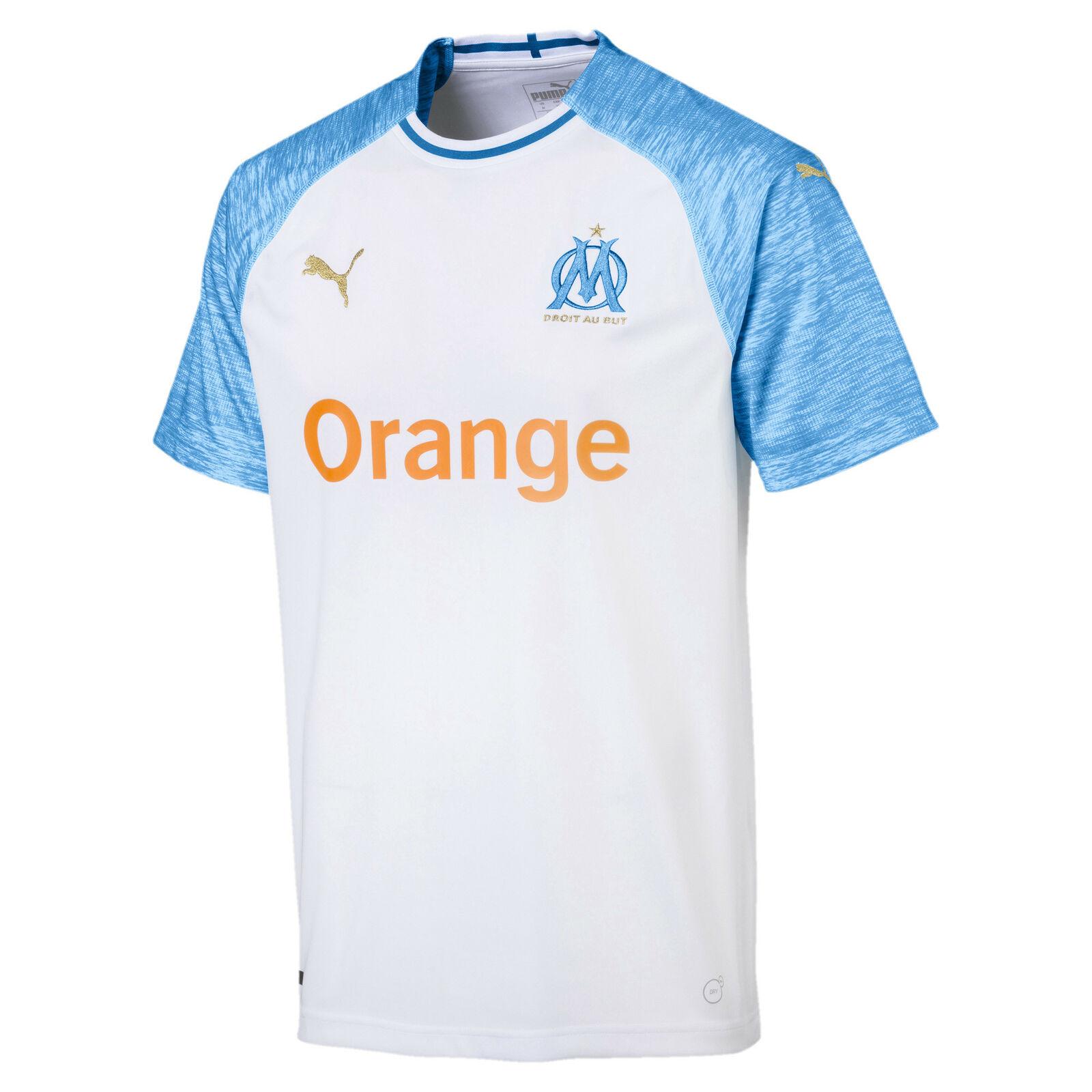 Bild zu Puma Olympique de Marseille Herren Replica Heimtrikot für 21,59€ (Vergleich: 27,10€)