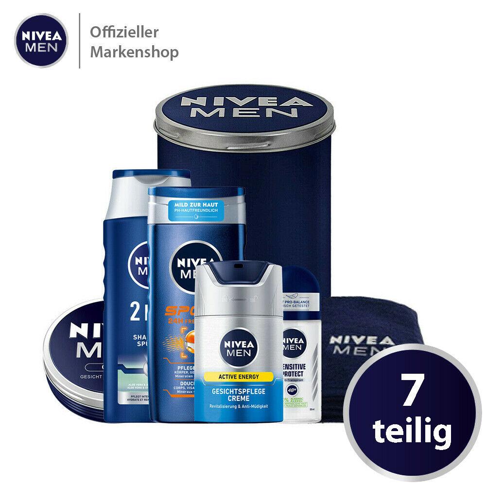 Bild zu Nivea Men Geschenkset mit 6 verschiedenen Produkten für 15,99€ (Vergleich: 22€)