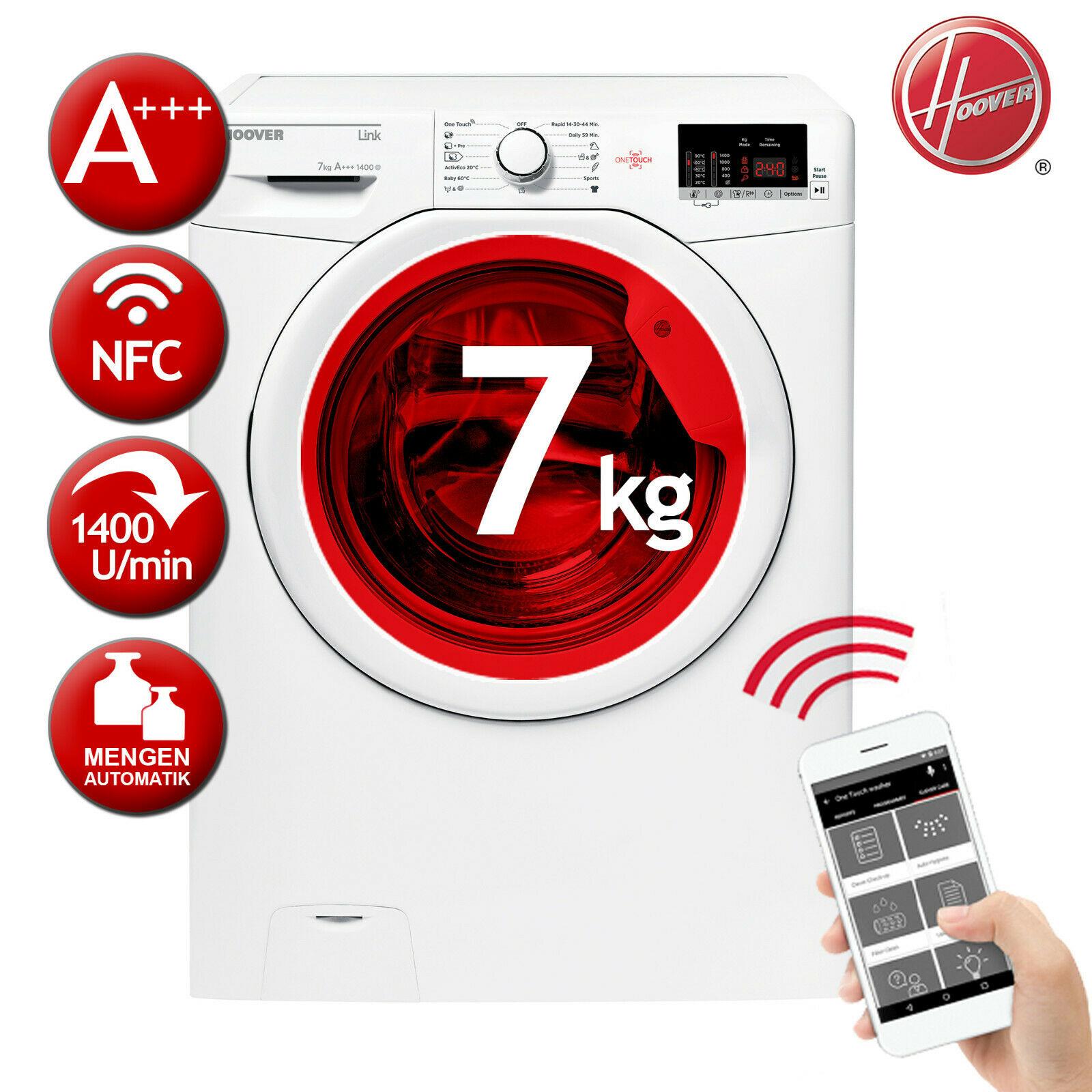 Bild zu 7 kg Waschmaschine Hoover HL 1472D3-S für 259,90€ (Vergleich: 298,50€)