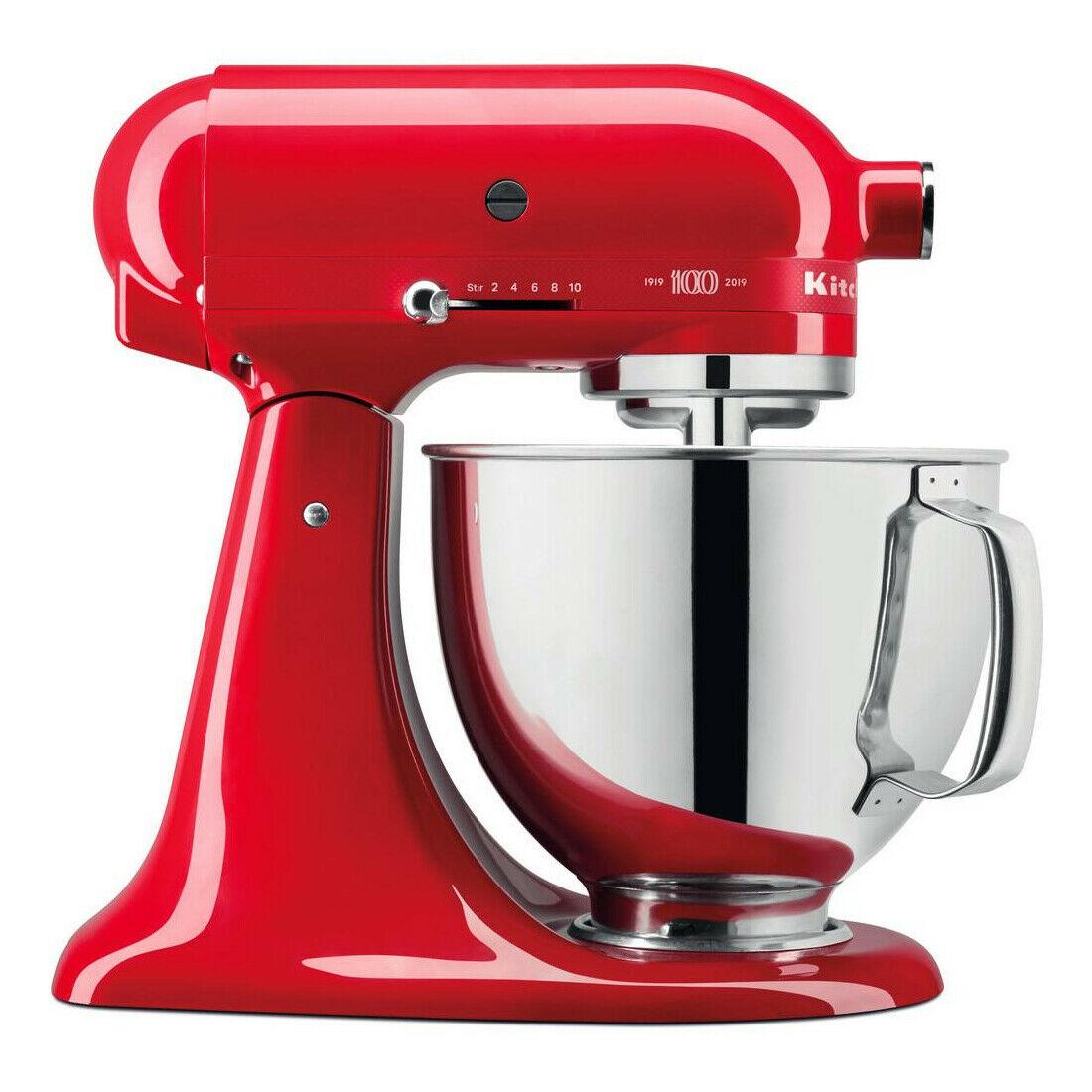 Bild zu Küchenmaschine KitchenAid Artisan 5KSM180HESD für 399,90€ (Vergleich: 535,16€)