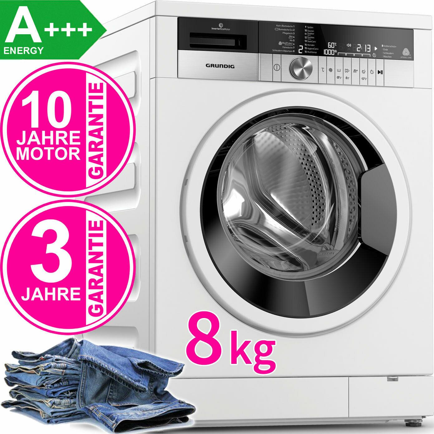 Bild zu 8 kg Waschmaschine Grundig GWN48440W für 359,90€ (Vergleich: 499€)