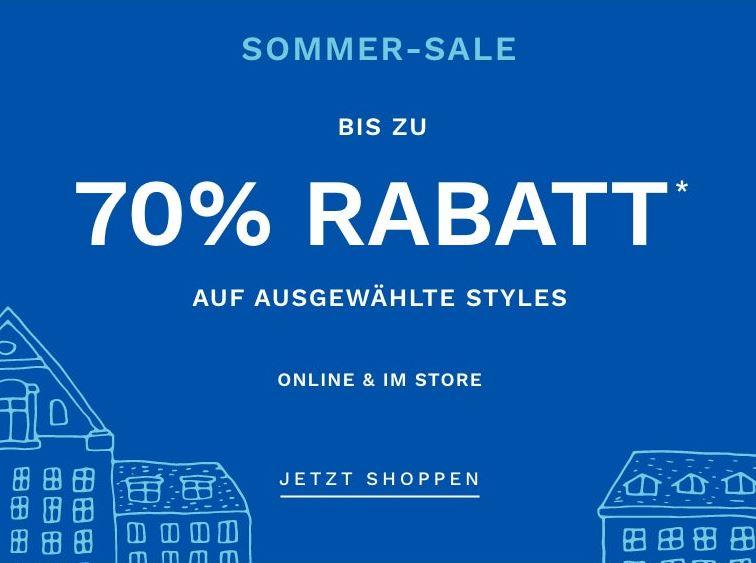 Bild zu SKAGEN: bis zu 70% Rabatt auf ausgewählte Styles – z.B. Herrenuhr Hagen mit Silikonarmband für 44€ (VG: 97€)