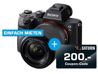 Bild zu SONY Alpha 7 M3 KIT (ILCE-7M3K) Systemkamera + 200€ Coupon-Code für 1679,83€ (VG: 1999€)