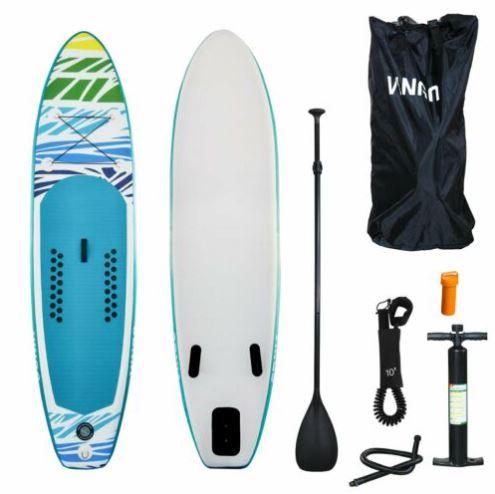 Bild zu SUP Board Stand Up Paddling Surfboard (320cm Aufblasbar Paddel ISUP Paddleboard) für 141,59€ (VG: 200€)