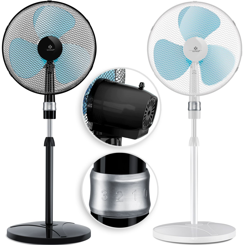 Bild zu 50 Watt Kesser Standventilator für 29,80€ (Vergleich: 34,80€)