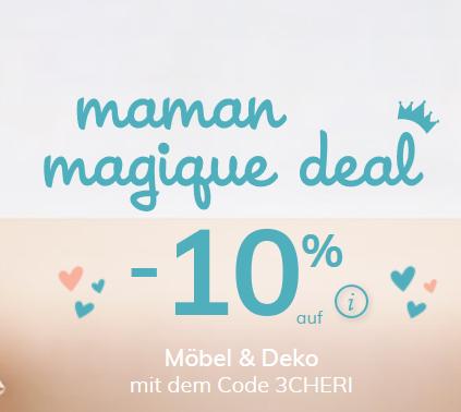 Bild zu Vertbaudet: 10% Rabatt auf ausgewählte Möbel und Deko von Mamam Magique