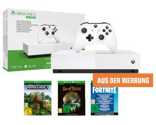 Bild zu MICROSOFT Xbox One S 1TB – All Digital Edition für 129,99€ (VG: 213,99€)