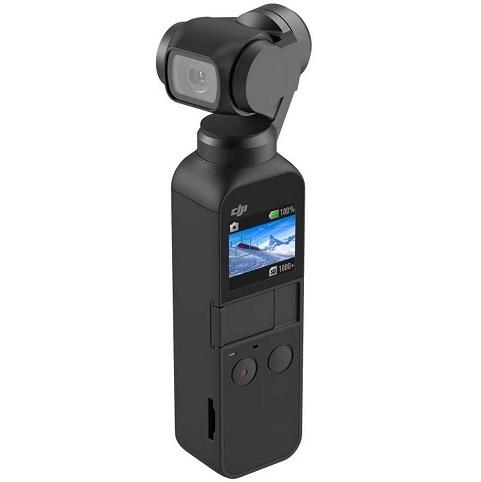 Bild zu 3-Achsen Gimbal Stabilisator DJI Osmo Pocket mit integrierter Kamera für 255,56€ (Vergleich: 299€)