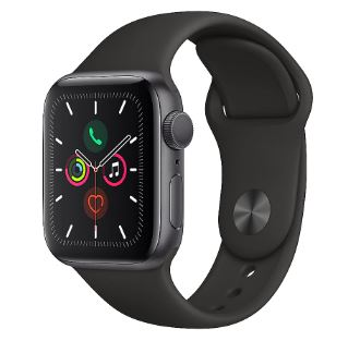 Bild zu APPLE Watch Series 5 40mm in rose oder space grey für nur 330,46€ (VG: 364,99€)