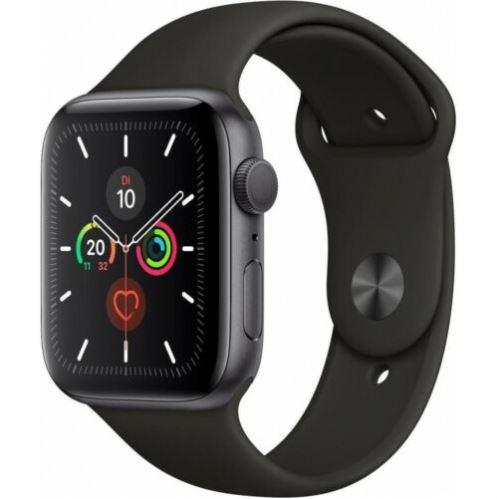 Bild zu Apple Watch Series 5 (44mm) Alu 32GB GPS Sportarmband für 377,91€ (VG: 432,99€)
