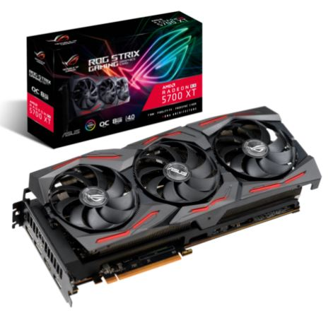 Bild zu ASUS ROG Strix RX 5700 XT OC Gaming Grafikkarte (PCI 4.0, GDDR6 8GB, HDMI) für 368,10€ (VG: 423,99€)