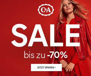 Bild zu C&A: Sale mit 25% Extra Rabatt auf bereits um bis zu 70% reduzierte Sommerstyles