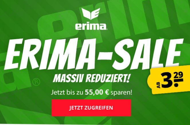 Bild zu Erima Sale bei SportSpar – bis zu 88% Rabatt