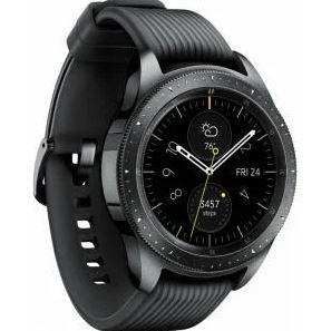 Bild zu Samsung Galaxy Watch Smartwatch 42mm (schwarz oder rosa) für 164,95€ (VG: 189,99€) + Gratis Lederarmband