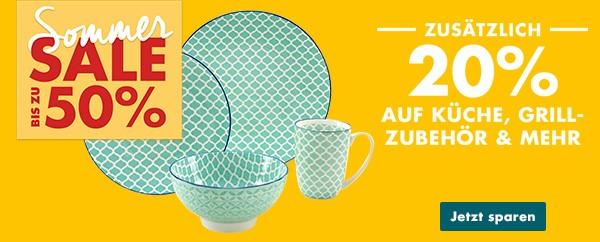 Bild zu Galeria DE Sonntags-Schätze, so z.B. 20% Rabatt auf Küche und Grillzubehör