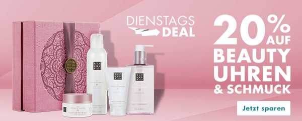Bild zu Galeria Dienstags-Deal: 20% Extra-Rabatt auf bereits um bis zu 50% reduzierte Beauty, Uhren & Schmuck Artikel