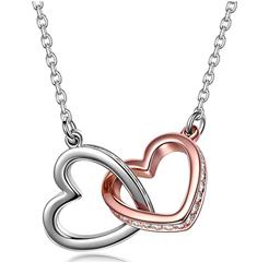 """Bild zu Kami Idea Halskette """"Liebe"""" mit Kistall von Swarovski für 8,99€"""