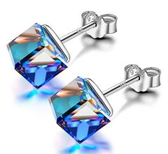 Bild zu Alex Perry Damenohrring aus 925er Silber mit Kristall von Swarovski für 7,55€