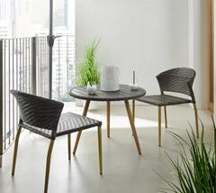 Bild zu BALKONSET Marie mit 2 Stühlen und Tisch für 70€