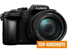 Bild zu PANASONIC Lumix DMC-G81MEG Systemkamera 16 Megapixel mit Objektiv 12-60 mm f/5.6, 7.5 cm Display, WLAN für 583,90€