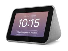 Bild zu Lenovo Smart Clock mit Google Assistant für 38,02€ (Vergleich: 51,37€)