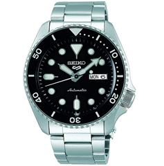 Bild zu Seiko 5 Sports SRPD55K1 Automatikuhr (wasserdicht bis 10 bar, Edelstahl-Gehäuse & Armband, Gehäusedurchmesser 42,5 mm) für 179,34€ (VG: 216,41€)