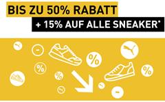 Bild zu Puma: Sale bis zu 50% Rabatt + 15% Extra-Rabatt auf alle Sneaker