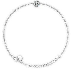 Bild zu FANCI 925 Silber Damen-Armband mit 1.45 Karat Zirkonia von Swarovski für 10,99€