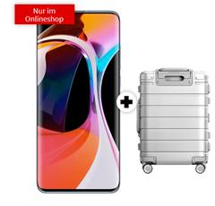 Bild zu [ausverkauft] XIAOMI Mi 10 & Xiaomi Mi Metal Carry-On Luggage 20″ für 1€ mit 10GB LTE Datenflat und Sprachflat im Telekom-Netz für 24,99€/Monat
