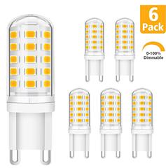 Bild zu KINGSO 6x G9 LED Glühbirne Warmweiß 5W 230V (dimmbar)für 10,49€ inklusive Versand