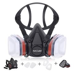 Bild zu NASUM M301 Atemschutzmaske inkl. Filter (geeignet unter anderem zum Lackieren/Polieren) für 14,99€