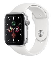 Bild zu Apple Watch Series 5 (44mm) Alu 32GB GPS Sportarmband weiß für 377,91€ (Vergleich: 424,88€) – eBay Plus