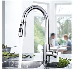Bild zu TACKLIFE ausziehbare Küchenarmatur (360° schwenkbar) für 38,99€