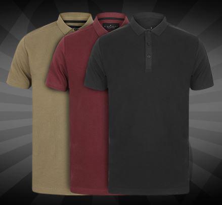 Bild zu DNM Dissident Macbeth Herren Polo-Shirt für 4,44€ zzgl. 3,95€ (VG: 11,99€)