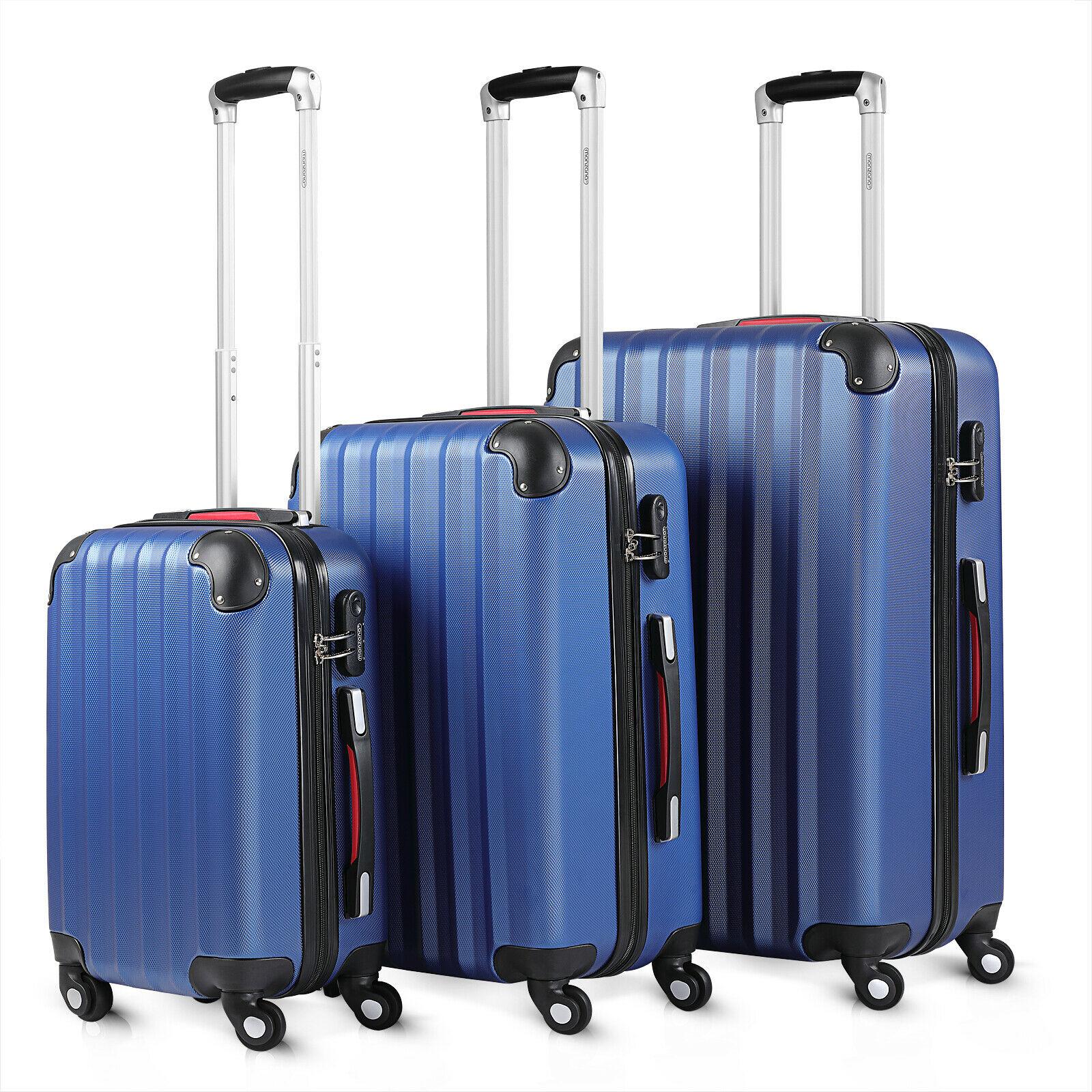 Bild zu 3-teiliges Monzana Kofferset für 58,45€ (Vergleich: 69,95€)