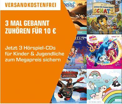 Bild zu Saturn: 3 Hörspiel-CDs für 10€