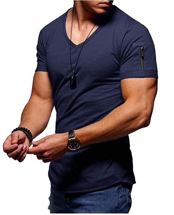 Bild zu Yesgirl Herren T-Shirt mit V-Ausschnitt für 10,99€